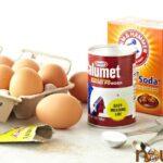 Trứng, Men, Bột nở, Baking Soda