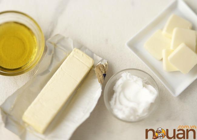 Dầu, bơ và rút ngắn