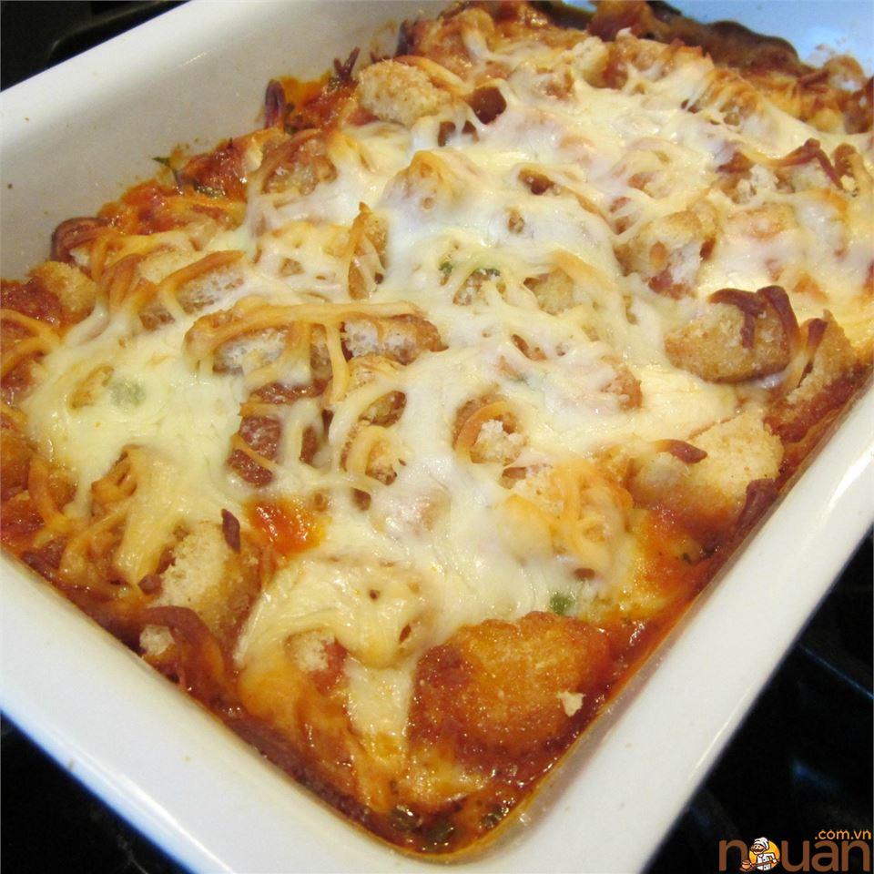 Nướng gà Parmesan ngon nhất